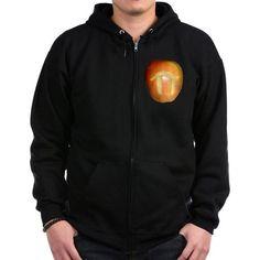 Apple Pi Zip Hoodie on CafePress.com