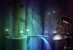 Vampires by ArtLilo, via Behance