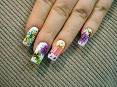 Nail Art by Pisut Masanong Christmas  #nail #nails #nailart
