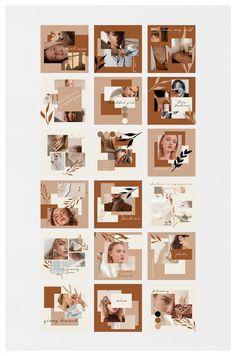 Instagram Feed Ideas Posts, Instagram Feed Layout, Feeds Instagram, Instagram Grid, Instagram Post Template, Story Instagram, Instagram Design, Bussiness Card, Presentation Layout
