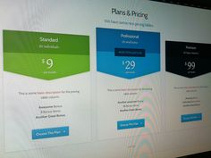 Pricing Table Psd Template  Pricing Table Psd Templates And Template