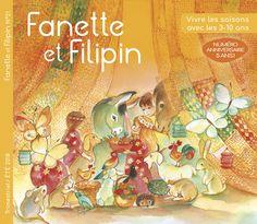 Fanette et Filipin N°21 d'été. Magazine jeunesse alternatif trimestriel pour vivre les saisons avec les enfants de 3 à 10 ans. Numéro anniversaire qui fête les 5 ans du magazine et décline aux travers de belles histoires et de bricolages, le thème joyeux de l'anniversaire.