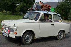Trabant: shouldn't we have been a little more suspicious of the East's claim that their technology was on par with ours when this was their people's car?