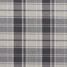 Sterling Gray and White PlaidCountry Damask Upholstery FabricThe K6911 STERLING PLAID upholstery fabric by KOVI Fabrics features Country or Lodge or Cabin, Plaid or Gingham pattern and Grey or Silver, White or Off-White as its colors. It is a Damask or Jacquard type of upholstery fabric and it is made of 52% Polyester, 48% Cotton material. It is rated Exceeds 100,000 Double Rubs (Heavy Duty) which makes this upholstery fabric ideal for residential, commercial and hospitality upholstery…