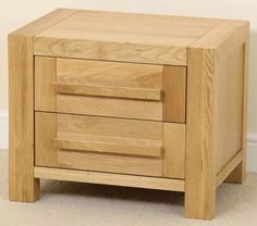 Featuring a sleek design, this exquisite bedside table offers handy bedside storage and boasts gorgeous dovetail joints. Free delivery to your room of choice. Bedside Chest, Bedside Storage, Nightstand, Oak Furniture Land, Oak Bedroom, Solid Oak, Fresco, Drawers, Lounge