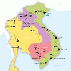 Big Indochina Adventure (Vietnam, Cambodia, Laos, Thailand) - Contiki Tour