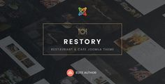 Restory - Restaurant & Cafe Joomla Template ⠀ Description Restory is a elegant, luxury and trendy Restaurant & Caffe Joomla template. It is a very simple, clean and minimalist template. It perfectly suited for the website of restaurant, fo... ⠀ # #bakery #cafeteria #cake #chinesefood #cmsthemes #coffeeshop #italianfood #joomla #modernfood #nunforest #smallcoffeshop #themeforest #business #food #cafe #hotel #responsive #pizza #reservation #restaurant #retail Restaurant Food, Food Retail, Theme Template, Modern Food, Bakery Business, Joomla Templates, Create Website, Website Template, Hairstyle