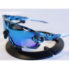4b1505cea3 Oakley Jawbreaker Blue Camo Tag someone who would fit these perfectly.   oakley  jawbreaker