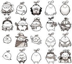 mandora role rubber stamp material, a lot of cute.  .  .  .