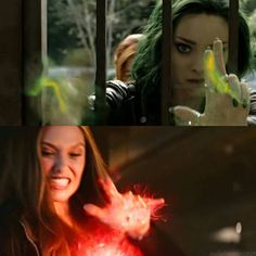 Scarlet Witch and Polaris Magneto's Children, X Men, Marvel Avengers, Marvel Comics, Dove Cameron, Polaris Marvel, Tv Series 2017, House Of M, Comic Drawing