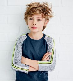 This is almost like an older version of my Little Mr. C-- though my boy has blonder hair.