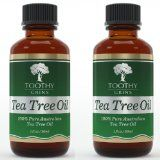 Tea Tree Oil 2 Pack - 2 One Ounce Bottles of Pure 100% Authentic Australian Tea Tree Oil By Toothy Grins by Toothy Grins Publishing, LLC
