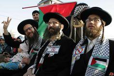 Judíos ultraortodoxos que apoyan la 'Causa Palestina'