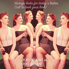 Vintage Looks for today's ladies!