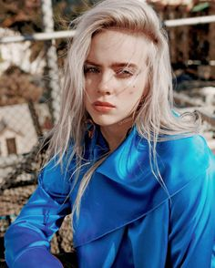 Take a moment and allow your day to be blessed by Billie Eilish