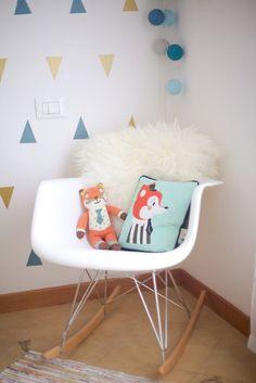 Eames chair and mini friends