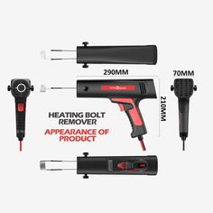 Handheld Small Induction Heater Quick Release Rusty Screw and Nut Machine Flameless Heating Bolt Remover Repair Tool Sales Online - Tomtop Smartwatch, Apple Technology, Tools, Smart Watch, Instruments