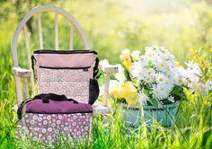 Bolso y bolsa maternal FIORE