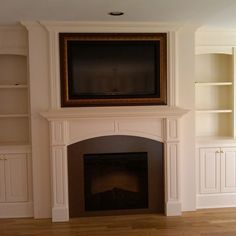 Frame Around Tv Design Ideas, Pictures, Remodel, and Decor - page 4