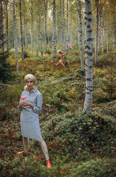 Vintage Marimekko Ads From the by Tony Vaccaro Are the Ultimate Fall Style Inspiration