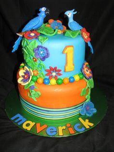Rio the movie, First Birthday Cake