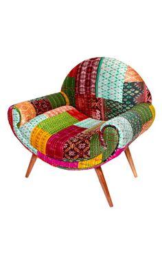 Merveilleux Sari Chair   Plümo Ltd