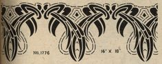 I have a great interest in period stencils. In my research, I have found many original stencil catalogs and it has become my ongoing quest t...
