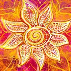 Doodle Art - great squidoo page with tons of links. What Is Doodle, Sun Painting, Flower Art, Fire Flower, Sun Art, Doodles Zentangles, Flower Doodles, You Draw, My Sunshine