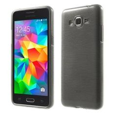 Samsung Galaxy Grand Prime TPU Case, Hoesje Grijs