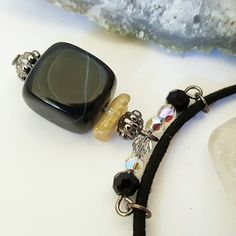 Check out this gorgeous black onyx!!! Sooo elegant... ❤