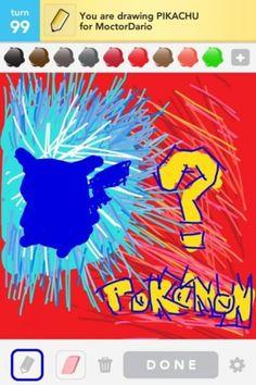 draw something / pokemon?
