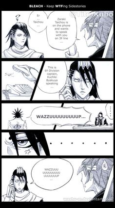 BLEACH - WTF Sidestory HAHAHAH OH IT'S GREAT!<<< saw all the art of that on deviant art AND IT IS FUCKING HILARIOUS