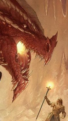 Red Dragon by Todd Lockwood