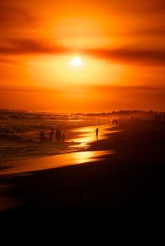 Sunset in Monterrico. Guatemala. ©Jimmy Mur