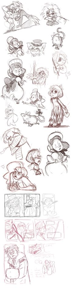 Sketches: Hyde and comics by otherwise on @DeviantArt