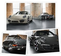 Tradition Future. 50 Years of the Porsche 911.