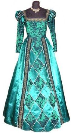 1500's dress