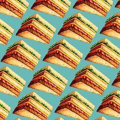 Cheese Sandwich Pattern
