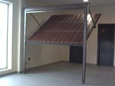 porton levadizo manual - Buscar con Google Door Gate Design, Garage Door Design, Garage Doors, Cat House Plans, Modern Garage, Garage Apartments, Outdoor Sheds, Garage Plans, Cabin Plans