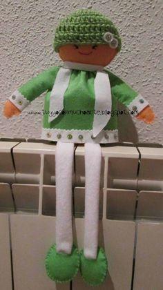 Muñecas de tela. ¿Quien no ha tenido una de pequeña/o?