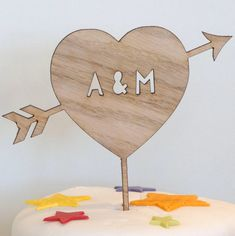 Your place to buy and sell all things handmade Wooden Cake Toppers, Personalized Wedding Cake Toppers, Glitter Cardstock, Rustic Wood, Card Stock, Cake Decorating, Wedding Cakes, My Etsy Shop, Handmade