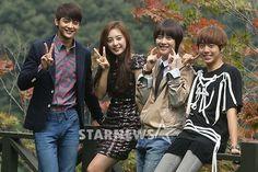 Minho, Sulli, Lee Hyun Woo