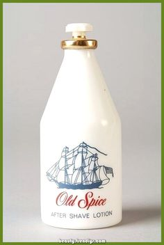 """Fles """"Old Spice"""", aftershave lotion"""
