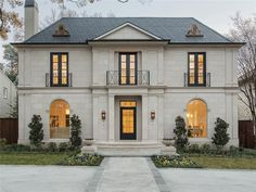 $3,300,000 - Classic #French Provincial new const w superb quality throughout. Entry boasts Bevelo gas lanterns, marble floors & custom iron door. Fmls w marble FP s, paneled study, wet bar w temp-controlled wine storage. Gourmet kitchen w custom vent hood, island, marble counters. Mstr w hardwoods, marble bath w sep vanities & closets. All BR s w walk-in closets & en-suite marble baths. 3 car garage. L-S back yard w loggia & outdoor FP.