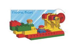 LEGO Models (9654) | 2002 fishing boat