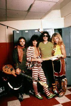 Van Halen Backstage 1981