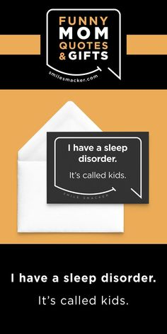 Mom's sleep disorder ~ Smack this quote onto NOte Cards & more. We're here to send a smile your way when #momlife gets crazy! Find your #smilestyle at smilesmacker.com Birthday Gift For Wife, Happy Birthday Wishes, Make Up Your Mind, Lose My Mind, Mommy Finger, Motherhood Funny, Mom Cards, Funny Mom Quotes, Funny Christmas Cards