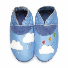 96b4280a0a66b Nuage en fête - chaussons en cuir souple du 16 au 41 didoodam  chaussons  Party Cloud - soft shoes up to adult sizes (uk size 7