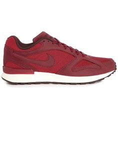 Air Pegasus New Racer Nubuck Ripstop Burgundy Sneakers - NIKE - Sneakers NIKE for men, All Mens Fashion and Clothing is available to buy on Menlook.com - Over 250 brands to discover
