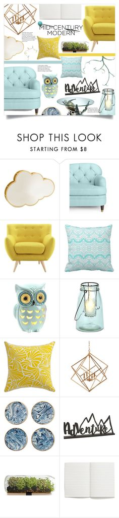 """""""Clean Spaces: Mid-Century Modern"""" by katerina1500 ❤ liked on Polyvore featuring interior, interiors, interior design, home, home decor, interior decorating, Altreforme, Kate Spade, Selamat and Hemisphere Modern Shop, Mid-century Modern, Clean Space, Handmade Leather Shoes, Interior Decorating, Interior Design, Polyvore Fashion, Kate Spade, Fashion Looks"""